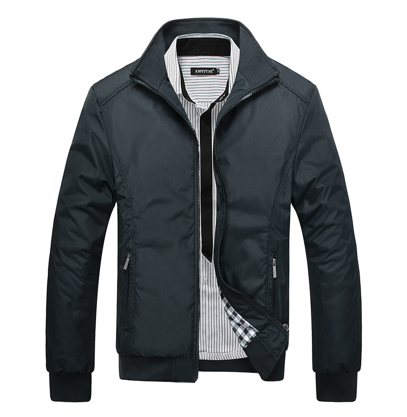 Quality High Men's Jackets Men New Casual Jacket Coats Spring Regular Slim Jacket Coat for Male Wholesale Plus size M 7XL 8XL
