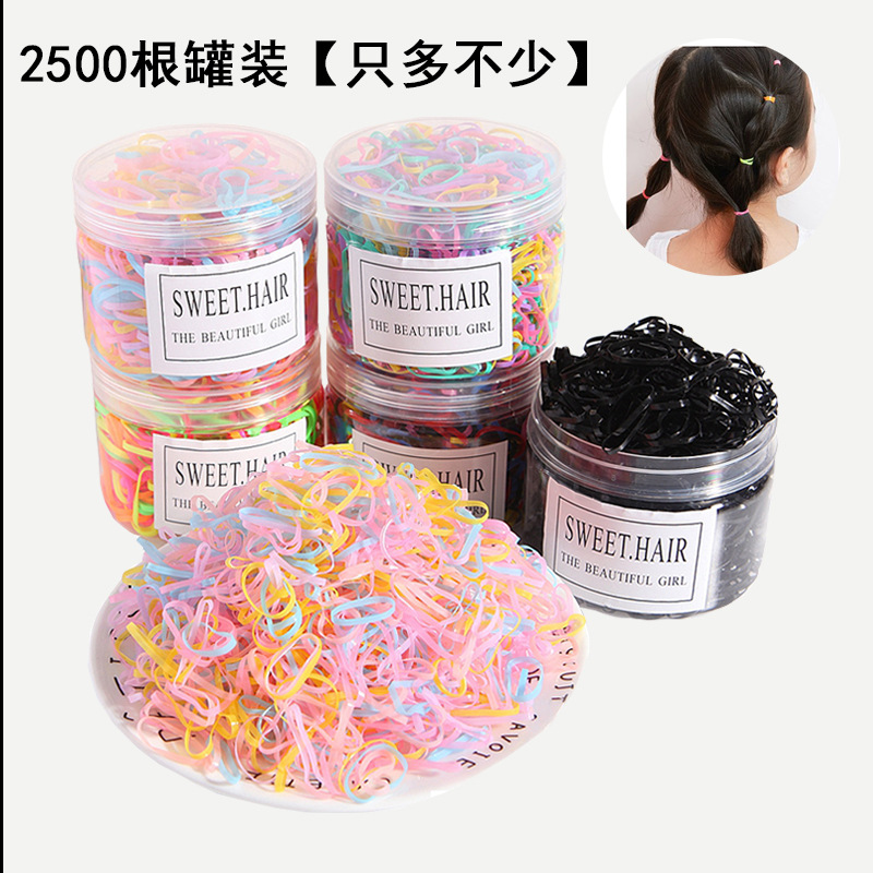 Купить 2500 шт для девочек аксессуары волос нейлона галстуки эластичные