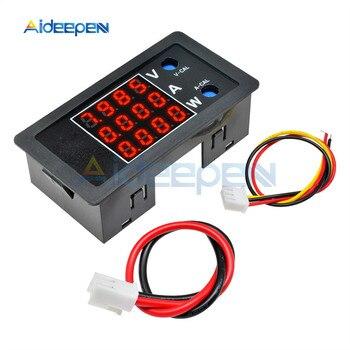 DC 0-100V 10A 1000W LCD Digital Voltmeter Ammeter Wattmeter Voltage Current Power Meter Volt Detector Tester Monitor 8V 12V 24V