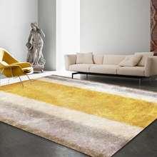 Роскошный напольный коврик в скандинавском стиле с золотыми