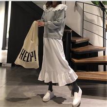 Повседневное платье для женщин милое с воротником Питер Пэн