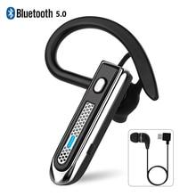 B4 – écouteurs sans fil Bluetooth 5.0, Mini casque réglable, crochet d'oreille, mains libres, avec micro, pour iPhone, Android, IOS, nouveau