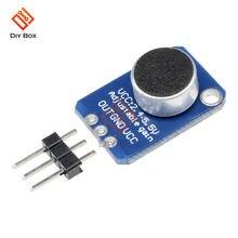 Плата усилителя микрофона max4466 с регулируемым усилением gnd