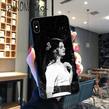 Lana Del Rey Funny Fashionable Coque Shell Phone Case For iPhone 8 7 6 6S Plus X XS MAX 5 5S SE XR 11 11pro promax Cellphones lana del rey funny fashionable black soft shell phone cover for iphone 8 7 6 6s plus x xs max 5 5s se xr 11 11pro promax coque