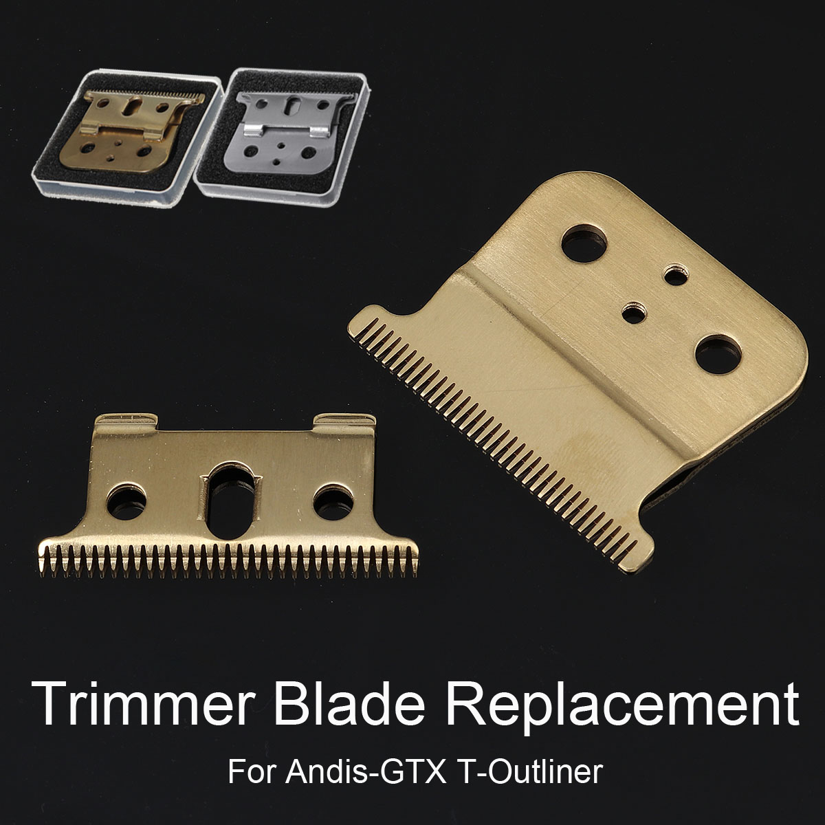 1/2/10 Set 32 Teeh Moveable Blade Clipper Trimmer Cutter Blade Replacement For Andis GTX T-outliner Clipper Kid Pet Wool