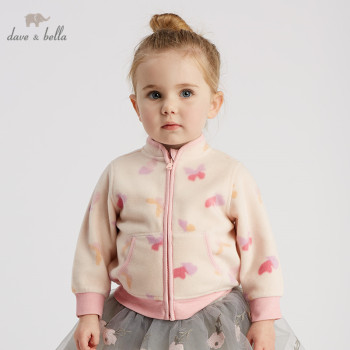 DB396-H dave bella spring baby lovely jacket children fashion outerwear kids cute coat image
