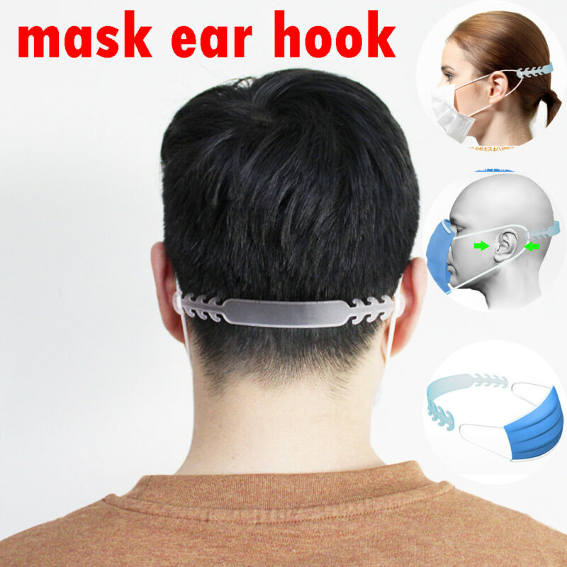 1 Pcs Adjustable Face Mask Ear Hooks Buckle Straps Extensions Straps Non Slip