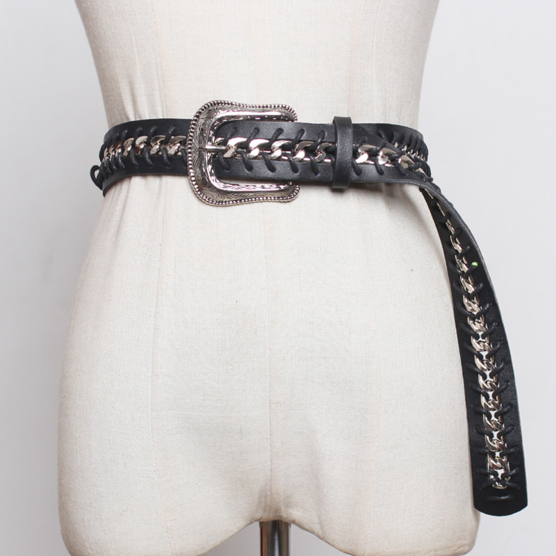 2020 High Fashion Solid Hot Sale Stylish Leather Belt Corset Belt Trendy New Design Waistband Female Tide Belts For Women ZK803