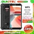 Смартфон Oukitel WP5 4+32ГБ, водонепроницаемый, 8000 мАч, в ассортименте