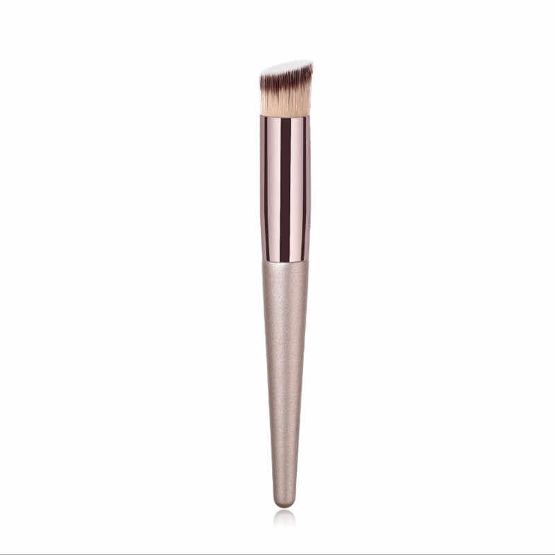Sourcil fard à paupières brosse pinceaux de maquillage 1 pièces fond de teint en bois brosse cosmétique mode féminine outils de beauté