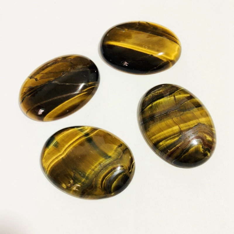 36X23X5 mm S-1359 Terrific Tiger Eye A One Quality 100/% Natural Tiger Eye Oval Shape Cabochon Loose Gemstone For Making Jewelry 30.5 Ct