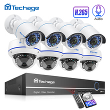 New 8CH 1080P POE NVR 2MP HD CCTV System Vandalproof Dome IP Indoor Camera P2P IR Night Vision Outdoor Security Surveillance Kit