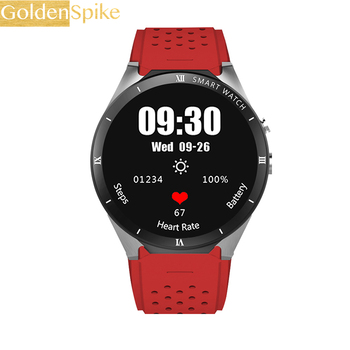 GOLDENSPIKE KW88 Pro 3G GPS WIFI Smart Watch Phone Android 7.0 MTK6580 Quad Core 1GB 16GB 2.0 MP Camera Video Call Sport for Men 1