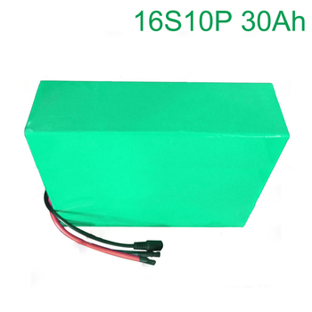 60V 30Ah 16S10P 18650 Li-ion Battery electric two Three wheeled motorcycle bicycle  ebike    310*190*70mm