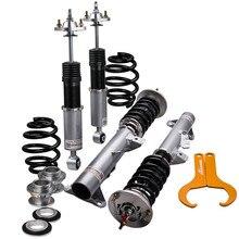 Adj amortyzator wstrząsy amortyzatory dla BMW serii 3 E36 M3 318 320 323 325 328 regulowany amortyzator Sedan 4 drzwi Coilovers 4 sztuk