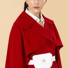 Cape Blazer Women Long Sleeve Runway Designer Elegant Ladies Red Mini Dress Suit Jacket Double Breasted Vestidos Female(China)
