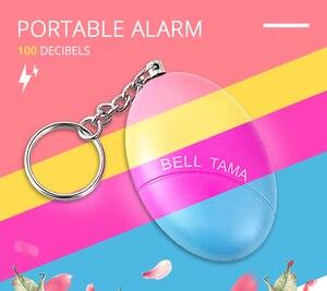 Image 5 - Self Defense Alarm 100dB Egg Shape Girl Women Security Protect Alert Personal Safety Scream Loud Keychain Emergency Alarm