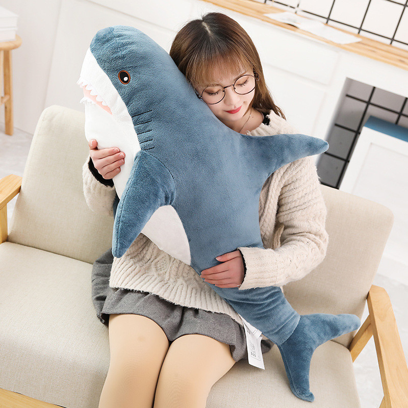 45/60/80 CM Hottest Plush Shark Toy 2020 New Hot Stuffed Shark Plush Toy Stuffed Pink Shark Cushion Plush Toy For Children Gifts