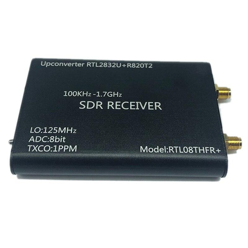 100 кГц-1,7 ГГц Upconverter + 1PPM TXCO RTL-SDR приемник RTL2832U + R820T2 SDR Radio RTL08THFR + SDR