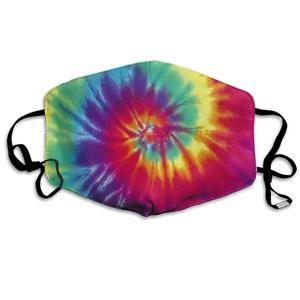 Маска для рта, цветные маски с принтом в виде галстука-красителя-дышащие Регулируемые ветрозащитные маски для рта, походные маски для бега д...