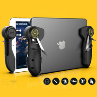 Mobile PUBG Game Controller For Ipad Tablet Six Finger Game Joystick - Handle Aim Button L1R1 Shooter Trigger 1