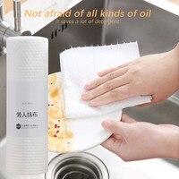 #H40 Kitchen Cleaning Cloths Clean Paper Towel Cloth Durable Washable for Dish/Glass/Desk-in Reinigungstücher aus Heim und Garten bei