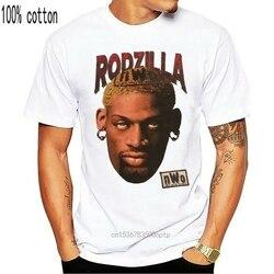 Vintage 90 Rodzilla T-Shirt Dennis Rodman 1Nwo Tee 1998 Size S-3Xl