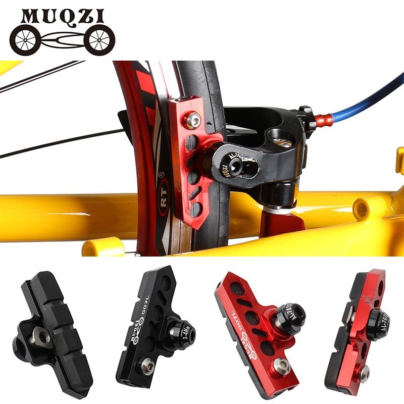 MUQZI велосипед C Суппорт тормозной Расширенный адаптер удлинитель тормозные колодки дорожный фиксированный механизм складной велосипед из ...