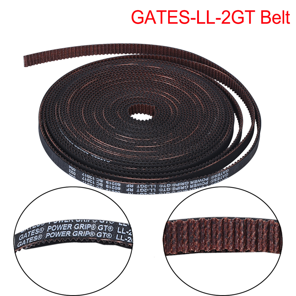 GATES-LL-2GT 2GT Belt Synchronous Belt GT2 Timing Belt 3D Printer Parts Width 6MM 10MM VS GT2-6MM Open Timing Belt For Ender 3
