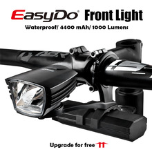 Led-Light Bike-Head Front Lamp Cycling-Upgrade Smart-Induction Easydo 10W USB for Outdoor