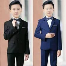 Костюм для детей костюмы для мальчиков на свадьбу, платье для причастия крещение мальчика на день рождения для малышей костюм для мальчиков, костюмы для мальчиков, Детский костюм для свадьбы TS956