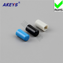 30pcs A15/Yellow red blue white black green ash with 3*3 inner lock hat switch self-locking 8*8 key Cap 5*9