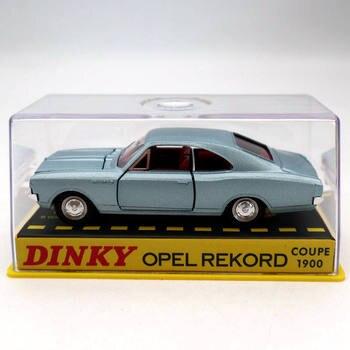 Atlas 143 Dinky zabawki 1405 Opel Pekord Coupe 1900 Diecast modele samochodów kolekcja Auto prezent