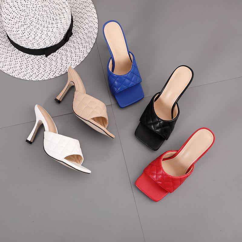 HOKSVZY 2020 Summer  women's Shoes Ladies Shoes Fish Mouth Sandals Female Summer  women's Shoes high heels sandals women