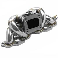 Stainless Steel Exhaust Turbo Manifold fit for Niss*an 89 98 TOP Mount SR20det T25/T28