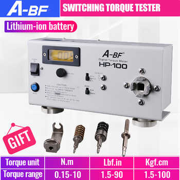 A-BF HP-100 Digital Torque Meter High Precision Switching Torque Tester Motor Tester Electric Batch Electric Screwdriver - DISCOUNT ITEM  30% OFF All Category