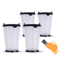 4pcs Filters + 1pc Cleaning Brush For AEG CX7 CX7-2 AEF150 Vacuum Cleaner Accessories