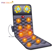 Multi-function Massage Chair Full body Heating Kneading Mattress Electric Vibration Massage Cushion Home Health Care Tool