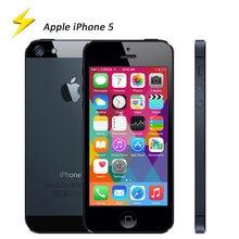 Apple – Smartphone iPhone 5 d'occasion débloqué, téléphone portable, Dual core, 16/32/64 go de ROM, Wifi, 8mp, IOS 6, 4.0 pouces, 3G, GSM