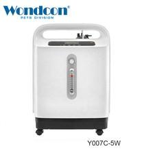 Wondcon חמצן רכז Y007C 5W בית חולים רפואי ציוד חדר עם מסך תצוגה