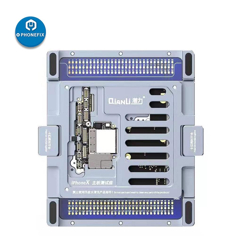 QianLi Double Side ISocket Multi-function Motherboard Diagnosis & Layering Repair Test Platform For IPhone X Logic Board Repair