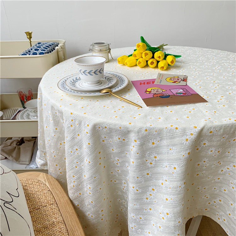 Table Cloth Kitchen Table Rectangular Tablecloth White Pattern Outing Picnic Tazer For Home And Kitchen Outdoor Picnic Lawn Mat