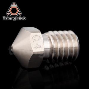 Image 3 - Trianglelab T V6 Überzogene Kupfer Düse Langlebig nicht stick hohe leistung für 3D drucker hotend M6 Gewinde für E3D V6 hotend