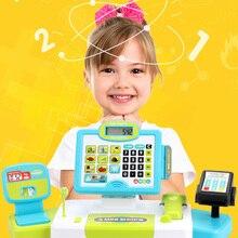 Детские игрушки для ролевых игр, мини-кассовый аппарат, ролевые игры, кассовый аппарат, Setearly развивающие игрушки