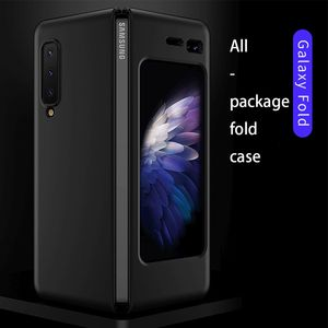 Image 4 - LAPOPNUT Thin Fit Galaxy Fold Phone Case for Samsung Galaxy Fold 2019 Cover Designed Matte Black Shockproof Hybrid Hard Coque