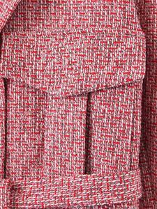 Image 5 - 2019 레트로 여성 믹스 컬러 소프트 모직 체크 무늬 자켓 벨트 하이 웨이스트 라인 미니 짧은 반바지 긴 소매 코트 2 개 세트