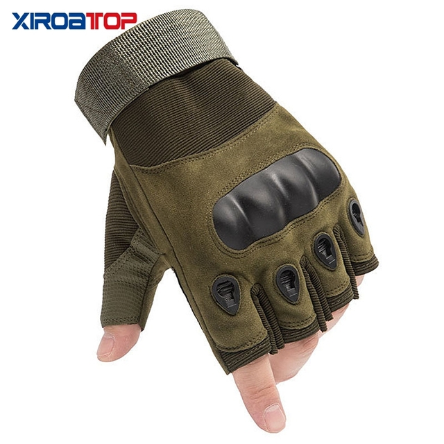 Hot Sale 2020 Men Women Outdoor Sport Tactical Gloves Airsoft  Half Finger Gloves Military Combat Gloves Shooting Hunting Gloves 1