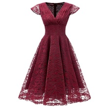new arrival 2019 autumn bohemian plus size dinner dresses for women fashion clothes lace floral designer dress free shiping