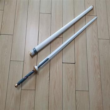 цена на 1:1 Sword Art Online SAO Cosplay Kirigaya Asuna Sword Prop Weapon Role Play Anime Game Movie PU Foam Model Toy Sword 99cm