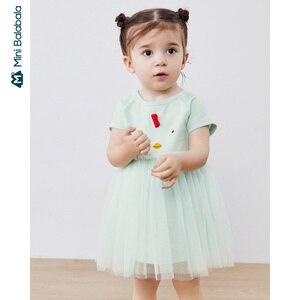 Mini bala vestido de bebê 2020 vestido de verão crianças vestir feminino bebê princesa